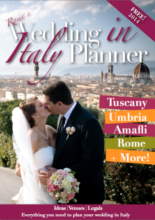 weddings in Italy magazine
