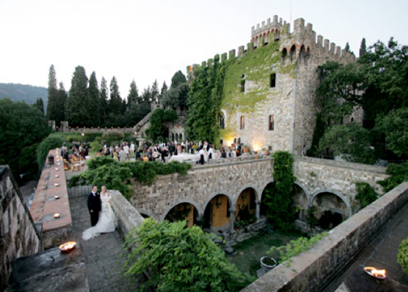 Castle Wedding at Castello di Vincigliata, Florence