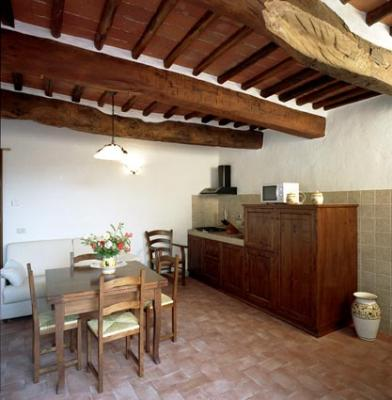 Castello-di-Meleto-Apartment-kitchen
