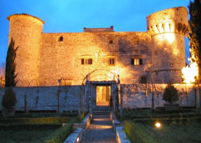 Castello-di-Meleto-Exterior-evening-2