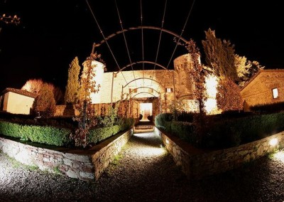 Castello-di-Meleto-Exterior-night-2