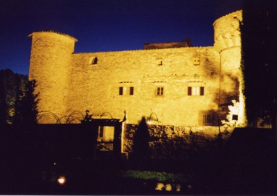 Castello-di-Meleto-Exterior-night
