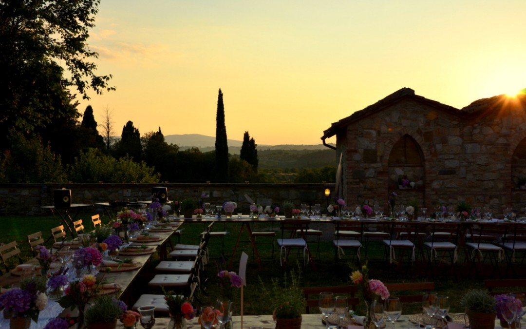 Sample wedding plan fabulous villa near Siena