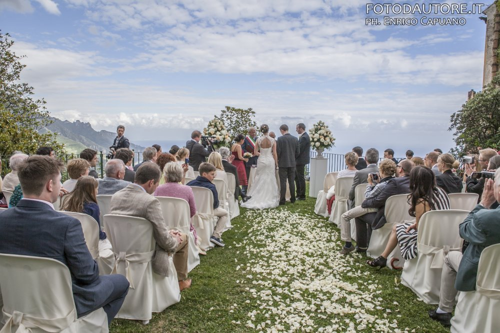 Wedding for 2 in Ravello (Amalfi Coast), Italy