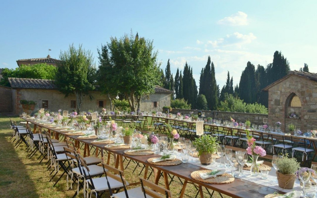 Villa Wedding near Siena Tuscany