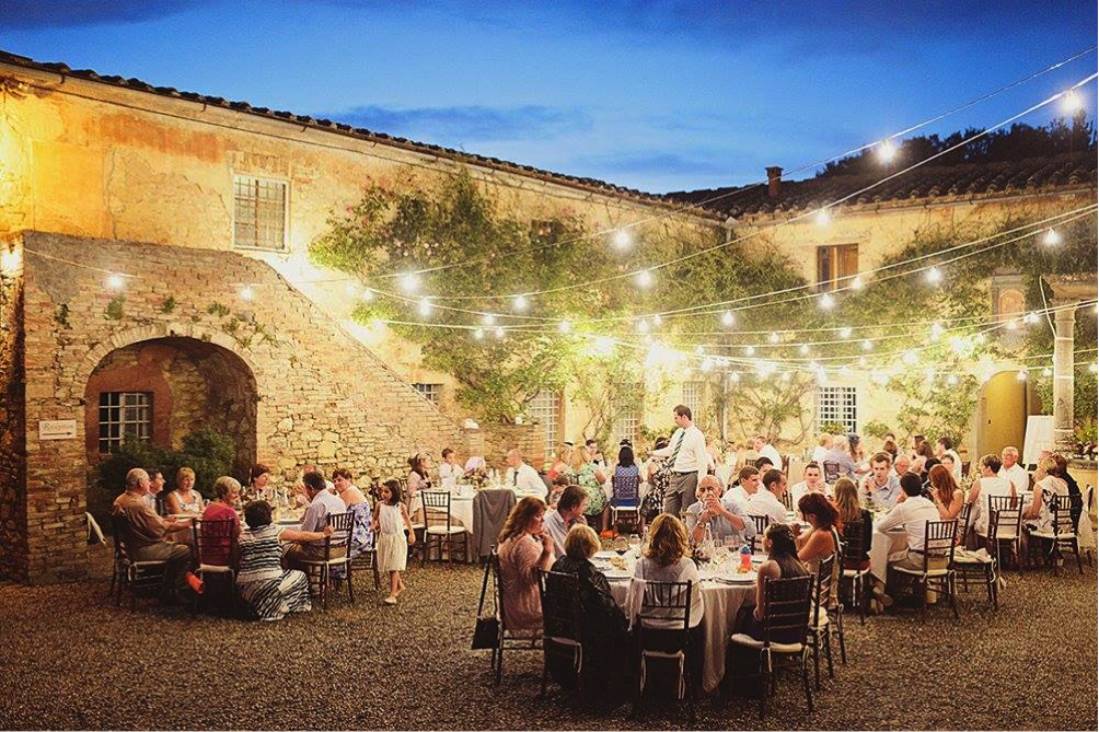 Wedding for 60 Guests in Tuscany, Italy