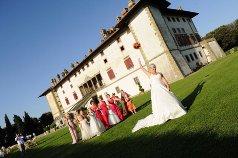 Villa di Artimino in Tuscany – symbolic wedding