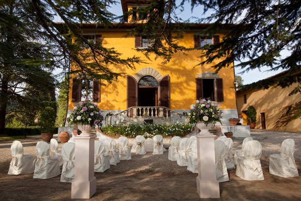 Luxury wedding villa near Florence, Italy
