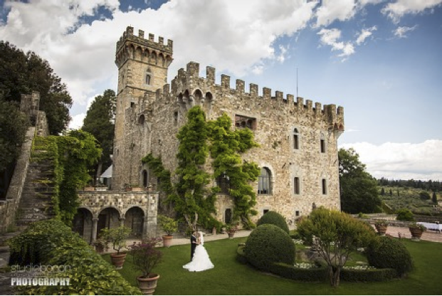 Castle Wedding on the Hills of Florence