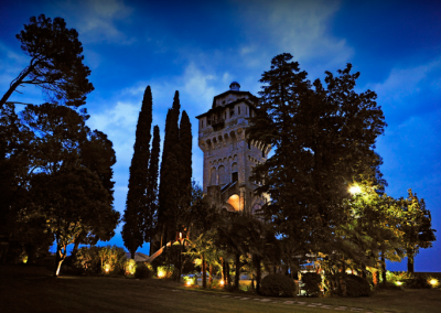 castle wedding in Italy lake garda 4