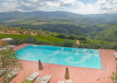 wedding villa with pool near Florence with church T35