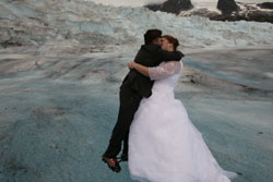 Glacier Wedding in Alaska