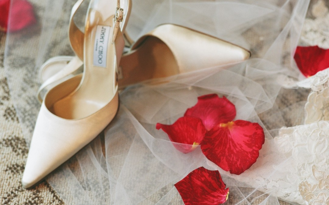 Wedding Shoes – Big feet, little feet