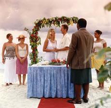 Wedding on Treasure Island