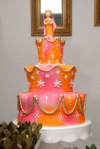 What Size Wedding Cake?