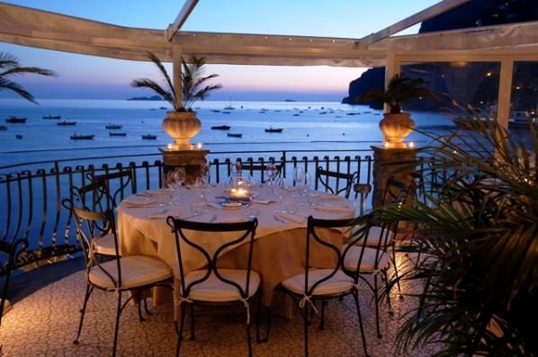 Wedding at Le Terrazze with Amalfi Coast views