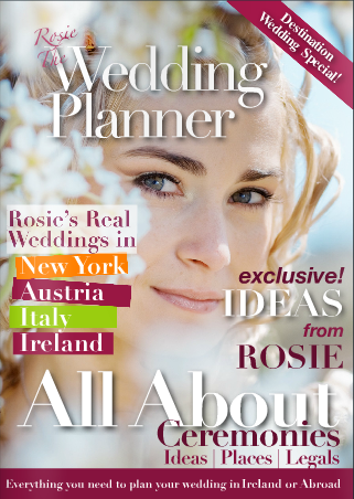 rose the wedding planners wedding magazine