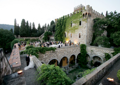 wedding castle in florence