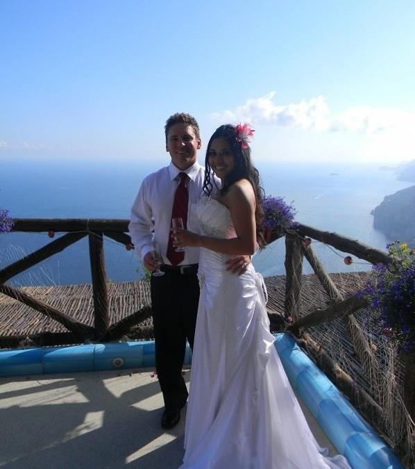 Idyllic rural wedding venue near Positano