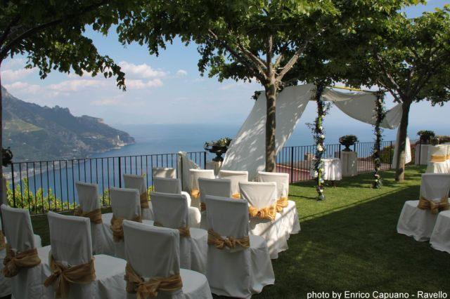 Villa overlooking Amalfi Coast