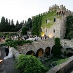 Wedding Castle in the hills of Florence