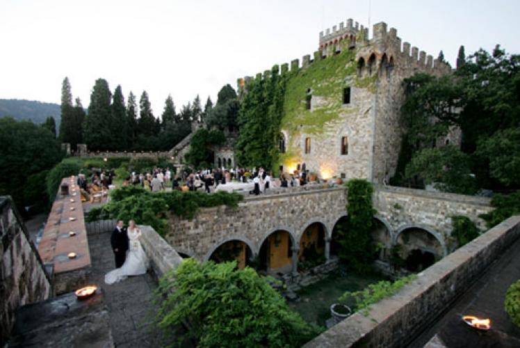 Wedding Package at Castello di Vincigliata