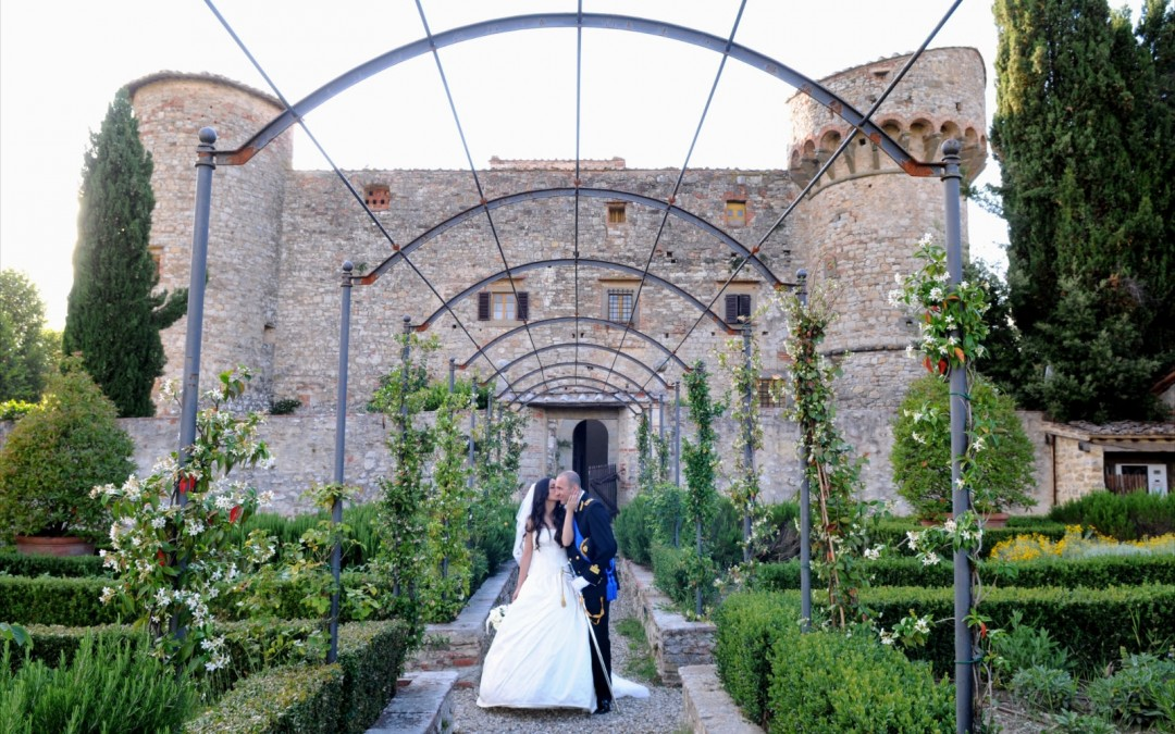 Castle Wedding in Tuscany for 150 guests (2015)
