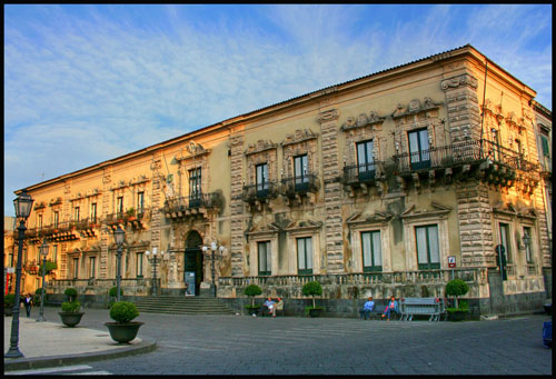 Civil wedding in Acireale Sicily
