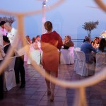 Church wedding in Positano Reception at Hotel Le Agavi