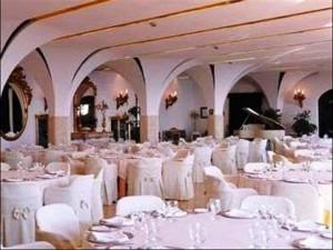 Church wedding in Positano Reception at Hotel Le Agavi