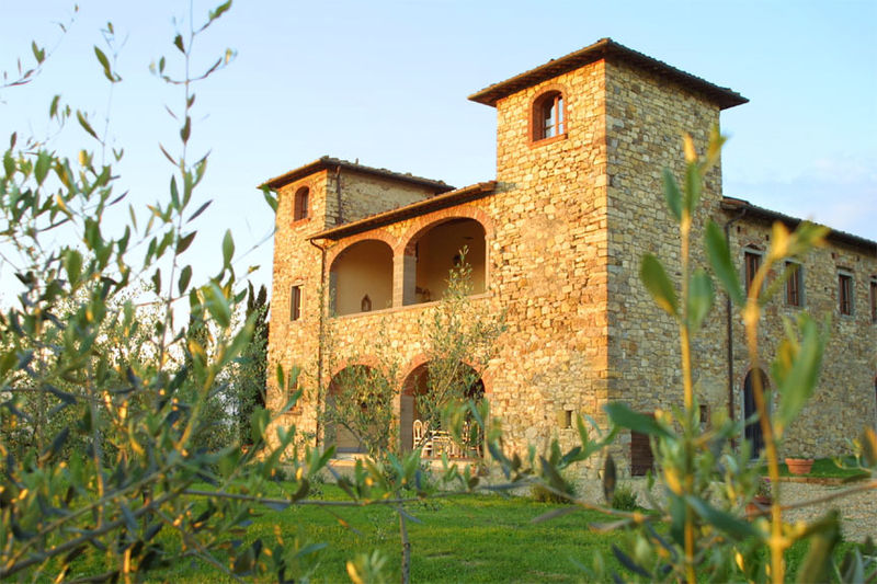 Wedding in Tuscan Villa near Chianti