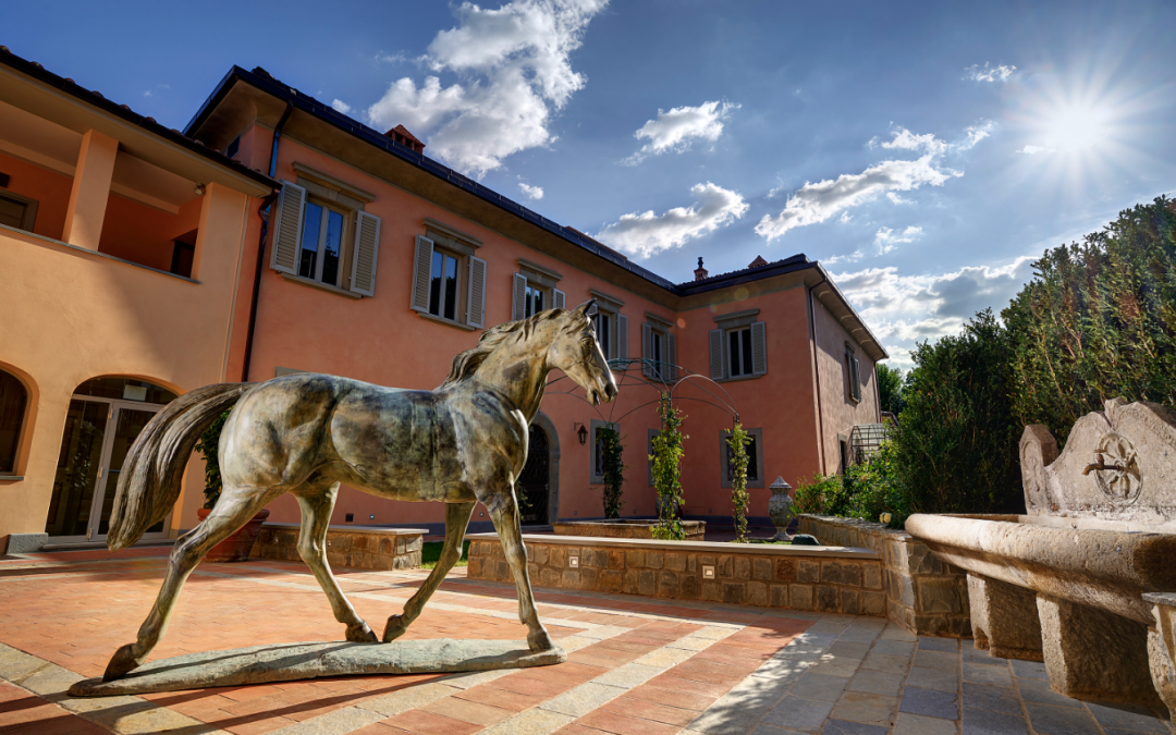 Wedding Villa within Walking Distance of Florence, Italy