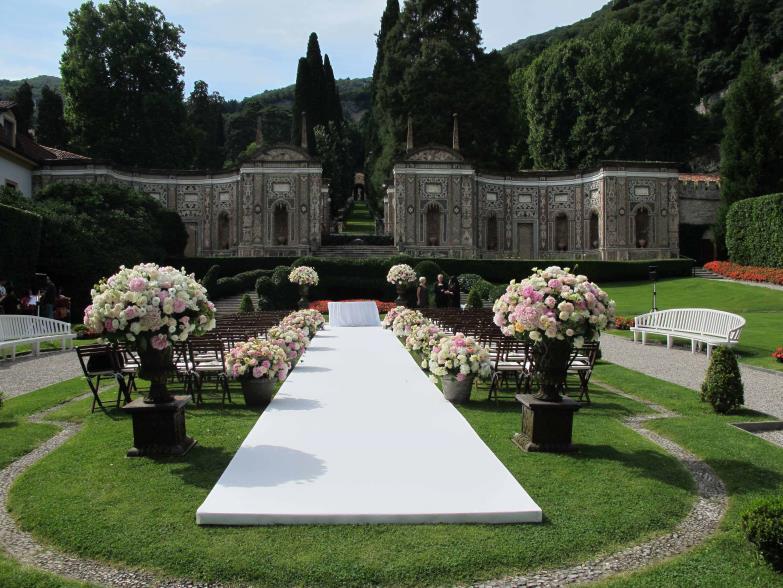 Wedding at Villa del Balbianello, Lake Como