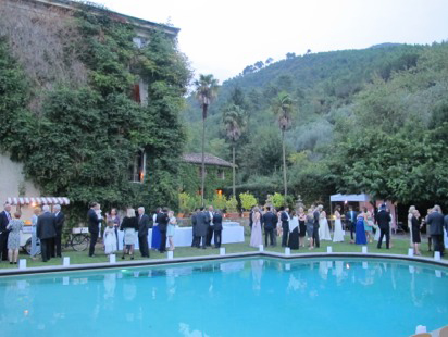 Wedding at Villa in Vorno Tuscany