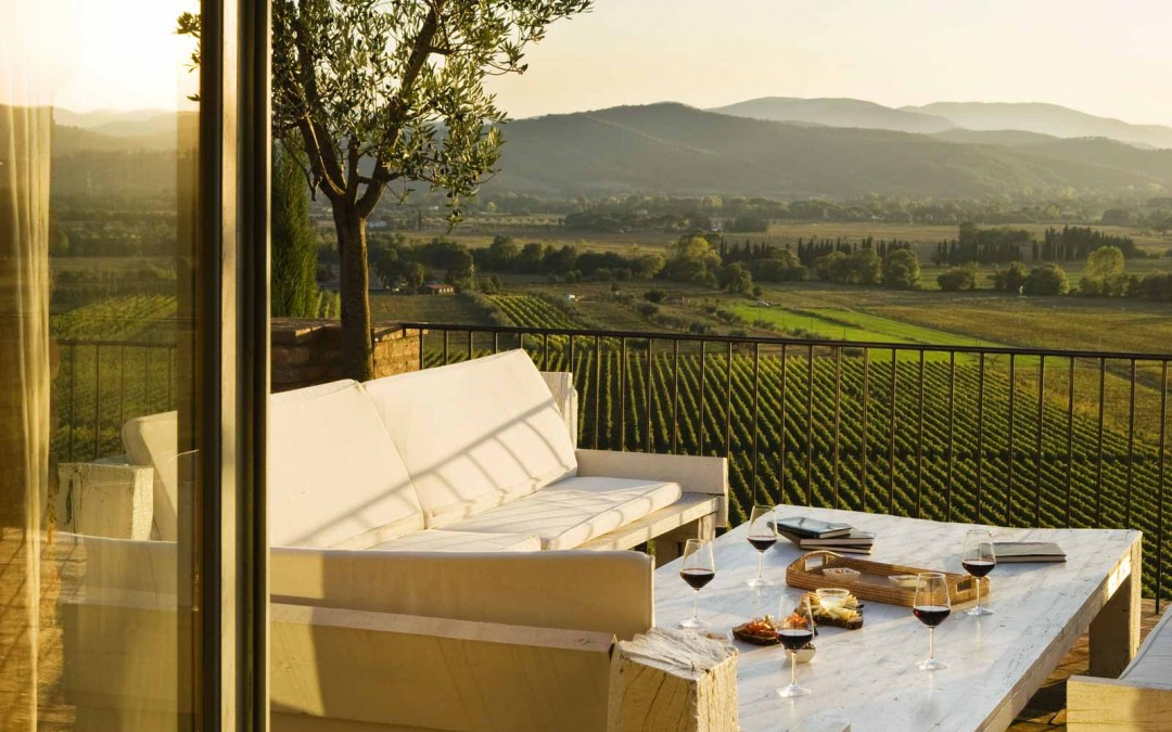 Wedding at Vineyard Resort in Tuscany