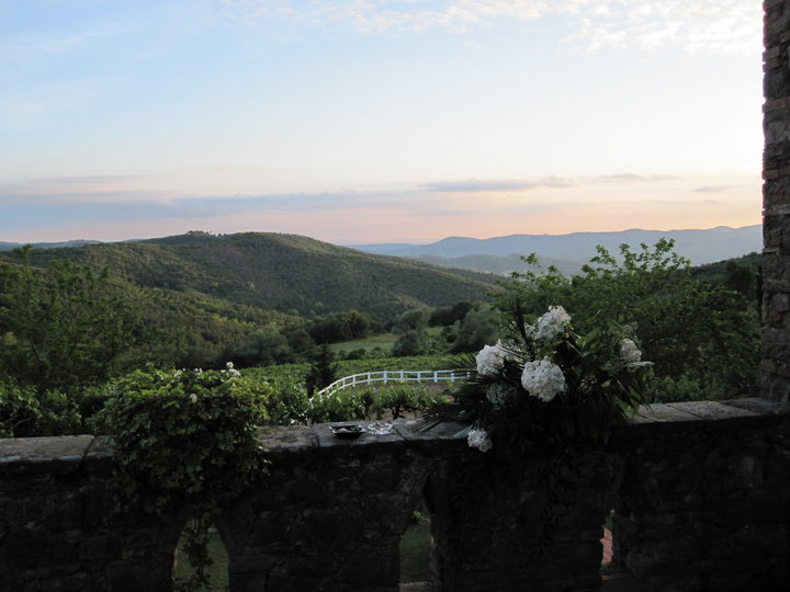 Wedding at Fattoria di Montelucci for 110 guests