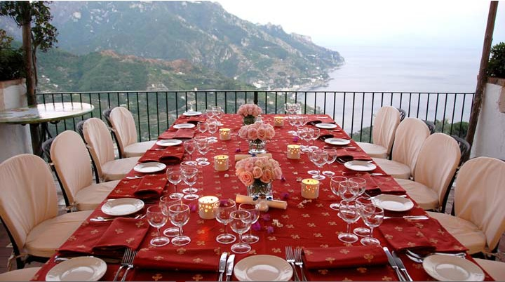 Wedding at Hotel Parsifal in gorgeous Ravello