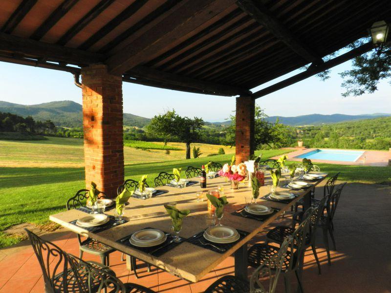 Villa Wedding in Montebenichi Tuscany