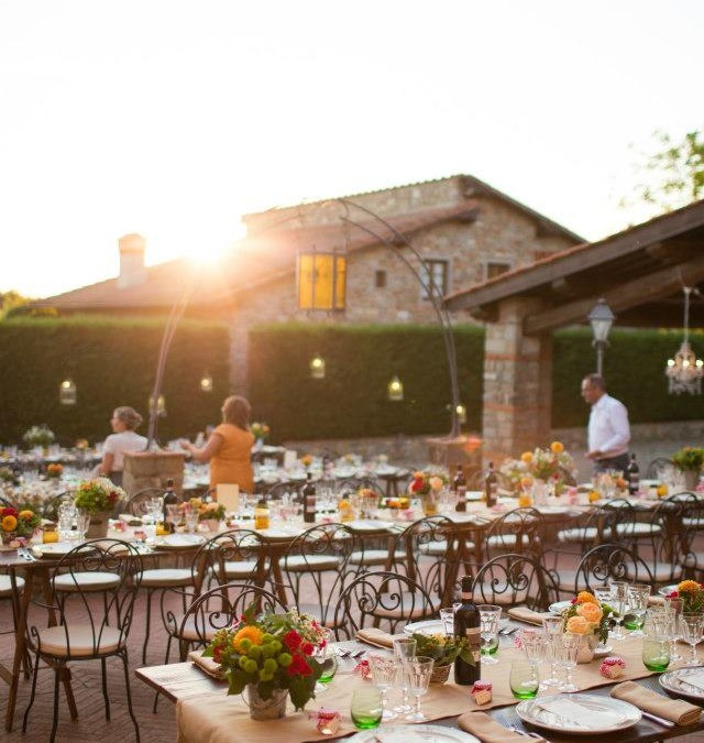 Wedding at a Private Villa near Florence