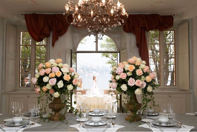 Lake Como Wedding Ceremony and Villa Reception