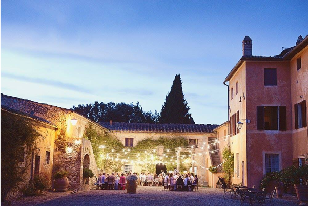 Wedding Villa near Siena for 150 guests