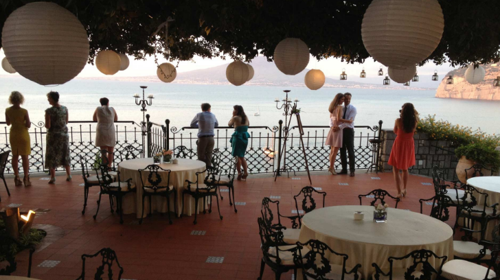 Wedding Villa in Sorrento overlooking the sea