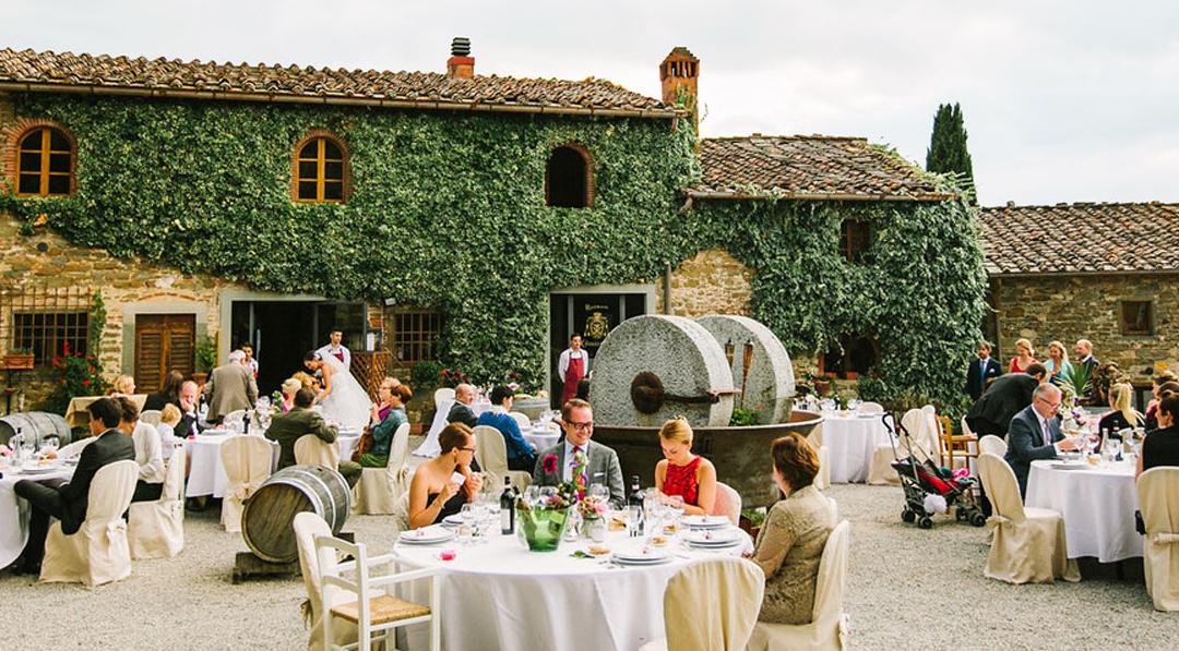 Chianti Villa Wedding Venue in Tuscany