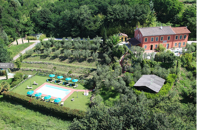 Vineyard Wedding Villa in Tuscany