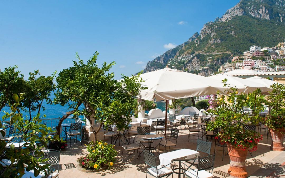 Wedding venue by the sea in Positano