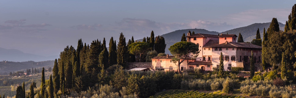 Sample Wedding Plan at gorgeous villa near Florence