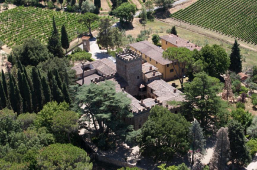 Tuscany wedding castle