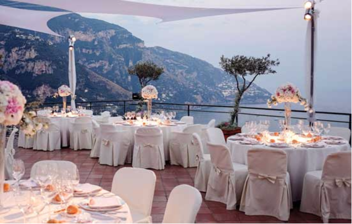 Wedding at Luxury Hotel on Amalfi Coast