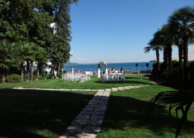 castle wedding in Italy lake garda 2