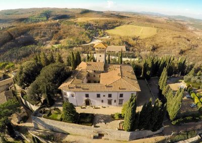 T35 Wedding Venue near Florence with Church